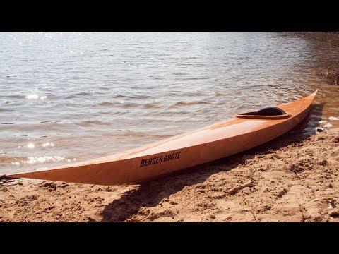 Holzkajak selber bauen - Das Yura Kajak als Bootsbausatz in Stitch & Glue Bauweise