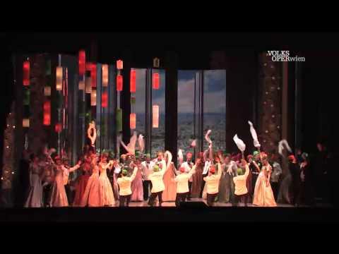 Die lustige Witwe – Volksoper Wien – Trailer