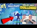The SMALLEST CIRCLE KILL Challenge on Fortnite Battle Royale