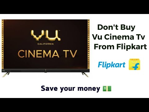Don't Buy Vu Cinema Tv Before Watching This Video | Save Your Money .
