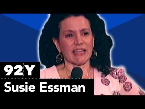 Susie Essman with Joy Behar