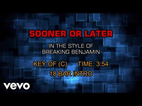 Breaking Benjamin - Sooner Or Later (Karaoke)
