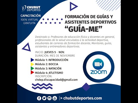 CHARLA DE DEPORTE ADAPTADO: BOCCIA Y GOALBALL