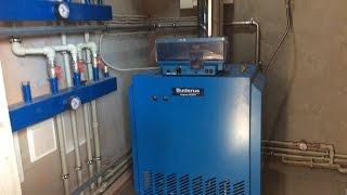 ✅Газовая котельная мощностью 72 кВт. Как установить газовый котел Buderus своими руками
