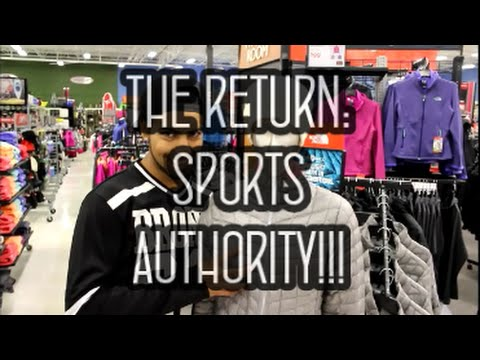 The Return: Sports Authority!!!