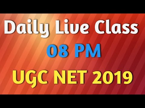 Live Class For UGC NET June 2019:  How to write Synopsis
