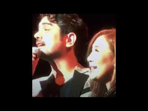 Sharon & Ian Concert -- singing Pangako Sa Yo