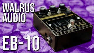 Familiar but BETTER! Walrus Audio EB-10 EQ & Boost