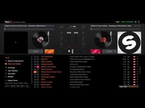 Nuevo programa para Mezclar Musica 2017ONLINE YOU DJ 100% Gratis y seguro