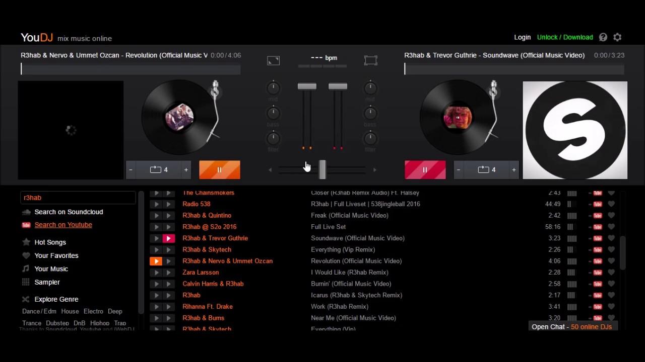 Nuevo programa para mezclar musica 2017online you dj 100 for Programas para disenar habitaciones gratis