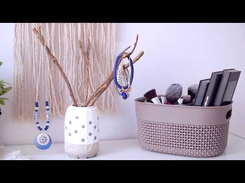 DIY : Concrete jewellery stand