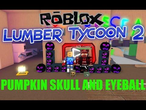 Robox:Lumber Tycoon 2:New Eyeball Skull and Dark Pumpkin
