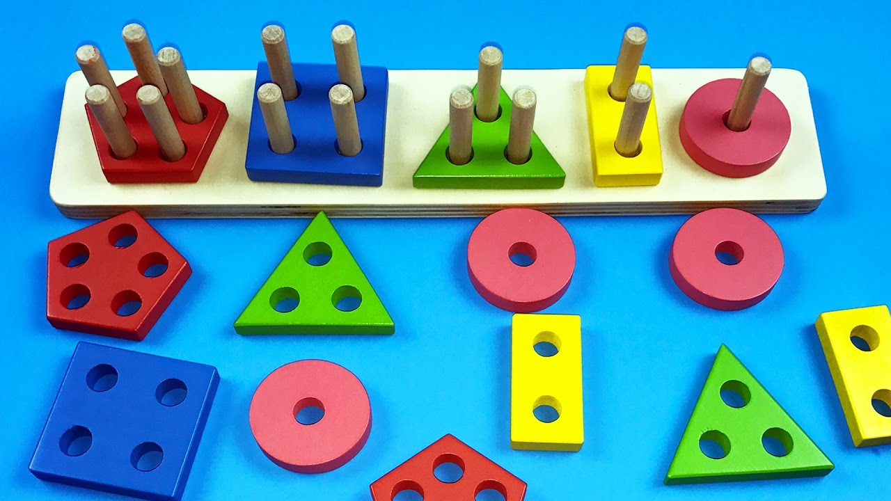 Learn Shapes L Colors L Numbers With Geometric Shape