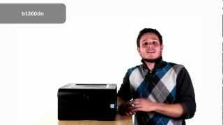 Dell b1160, b1260dn, and b1265dnf printers