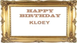 Kloey   Birthday Postcards & Postales - Happy Birthday