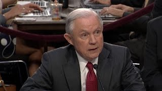 AG Jeff Sessions denies collusion with Russia during hearing Free HD Video