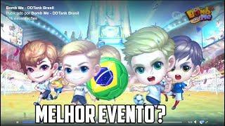 DDtank Mobile Brasil (Bomb-me) - Evento da Copa do Mundo, melhor evento