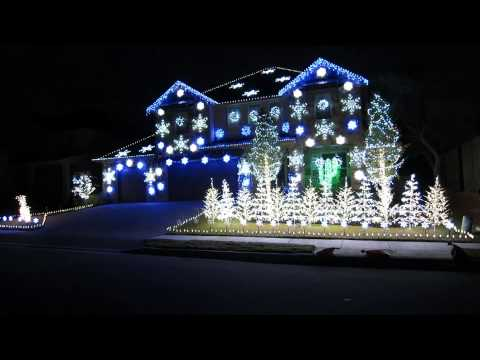 Christmas Vacation Light Up Sequence - 2012