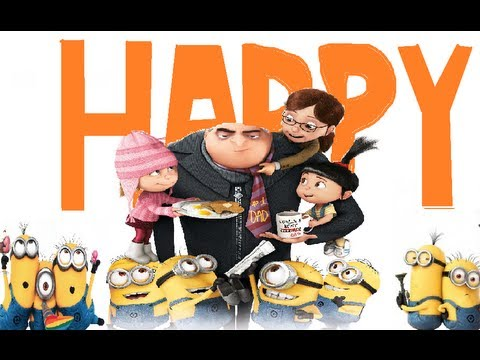 Pharrell Williams - Happy (Despicable Me 2 Soundtrack)