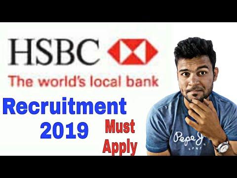 HSBC Recruitment 2019   Hsbc Jobs   Hsbc Bank