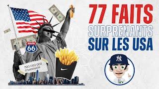 77 FAITS SURPRENANTS SUR LES ÉTATS-UNIS !! thumbnail