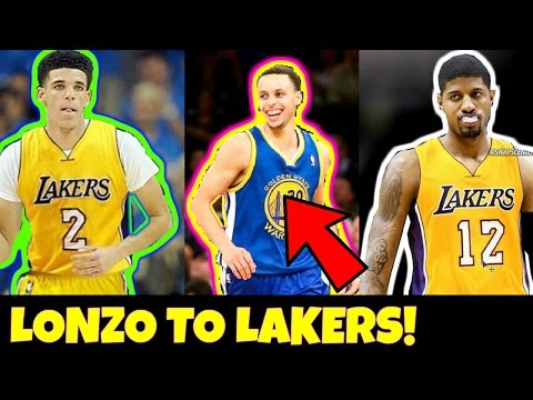 NEWS: LONZO BALL AND PAUL GEORGE SENT TO THE LAKERS!! Lakers FINALLY defeat Steph Curry?