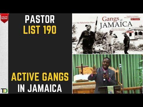 190 of the 250 Plus Active GANGS in JAMAICA - Teach Dem