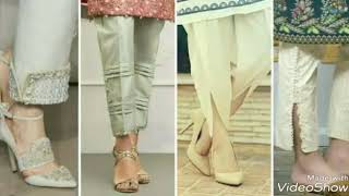 Stylish trousers  designer designs for girls 2018-2019