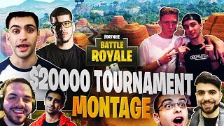 $20,000 YouTuber/Streamer Friday Fortnite Tournament Montage (Week 10)
