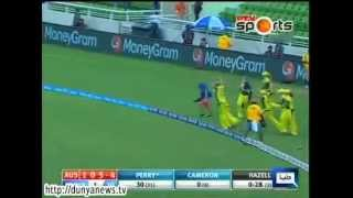 Dunya News-Australian women cricket team claim World T20 championship for 3rd time