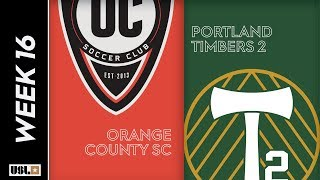 Orange County SC vs. Portland Timbers 2: June 22nd, 2019