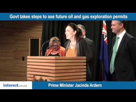Rogernomics top of Ardern's mind as she moves to ban offshore fossil fuel exploration