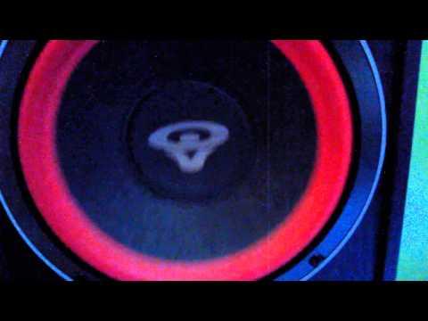 bass-subwoofer-klipsch-sw-10,-speakers-cerwin-vega-ve8,-and-onkyo-receiver