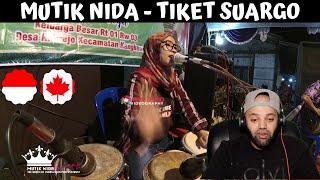Download lagu MUTIK NIDA - TIKET SUARGO (YA IMAMARRUS) | Indonesia | MR Halal Reacts