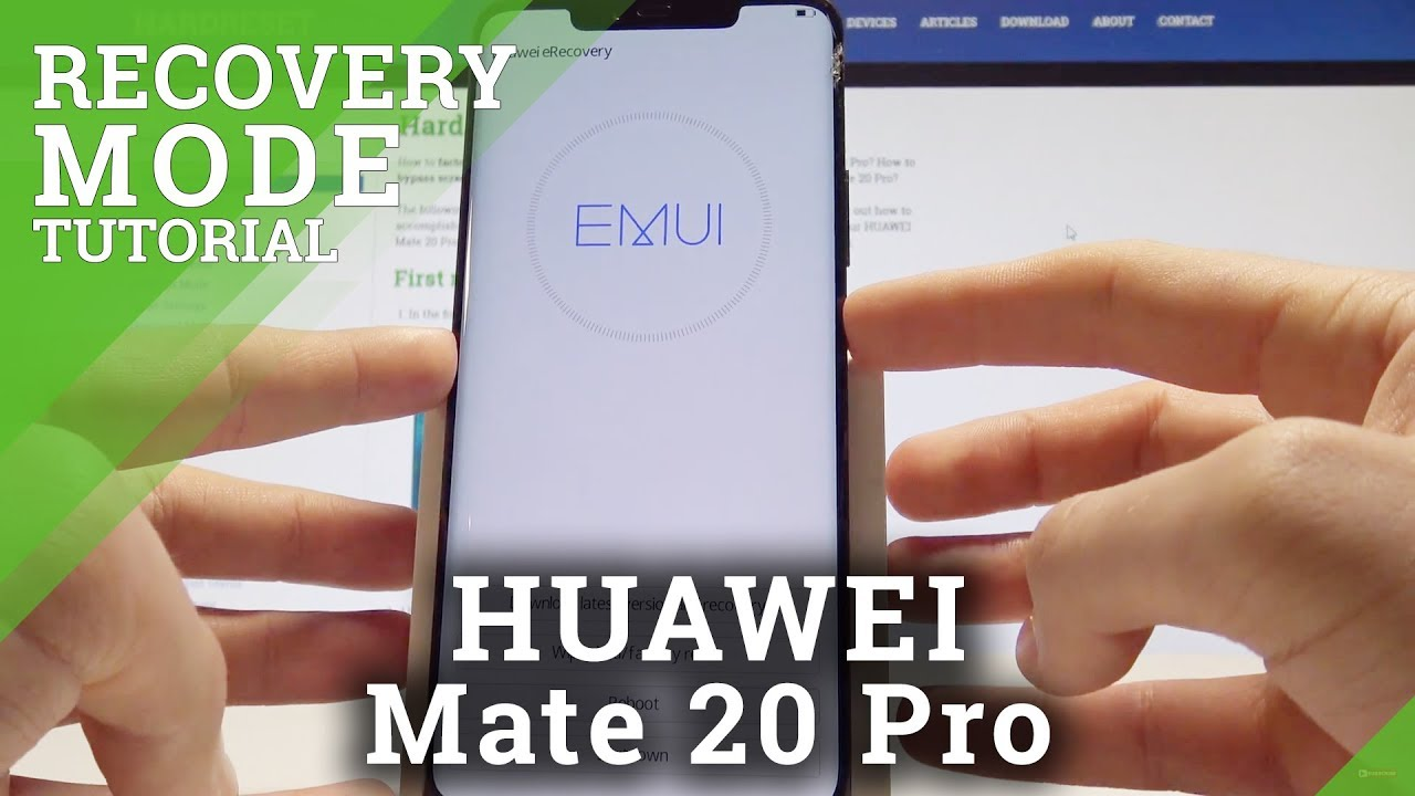 Recovery Mode HUAWEI Mate 20 Pro - HardReset info
