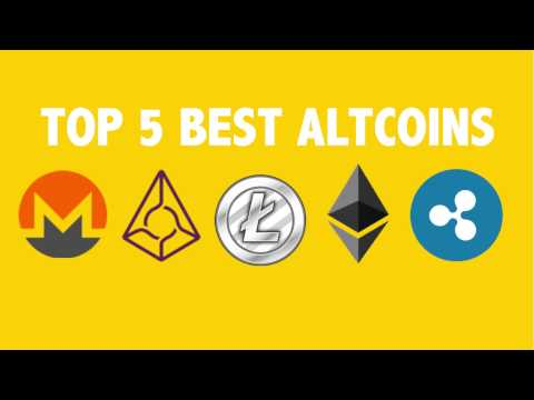 Top 5 Best Altcoins 2017