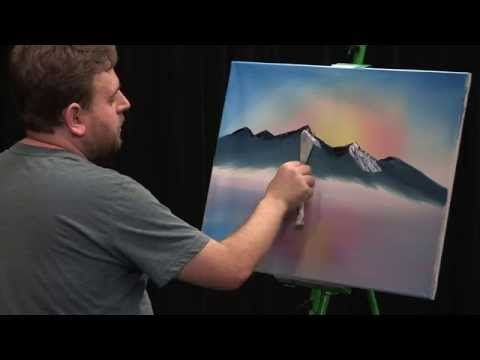 Painting A Cold Winter Sunset (The Salem Painter   Ep 02)