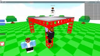 the soil is lava in roblox... !!!!!! -roblox.