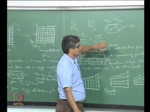Mod-07 Lec-44 Generation of a structured grid for irregular flow domain; Algebraic methods