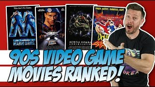 All Six 90s Video Game Movies Ranked!