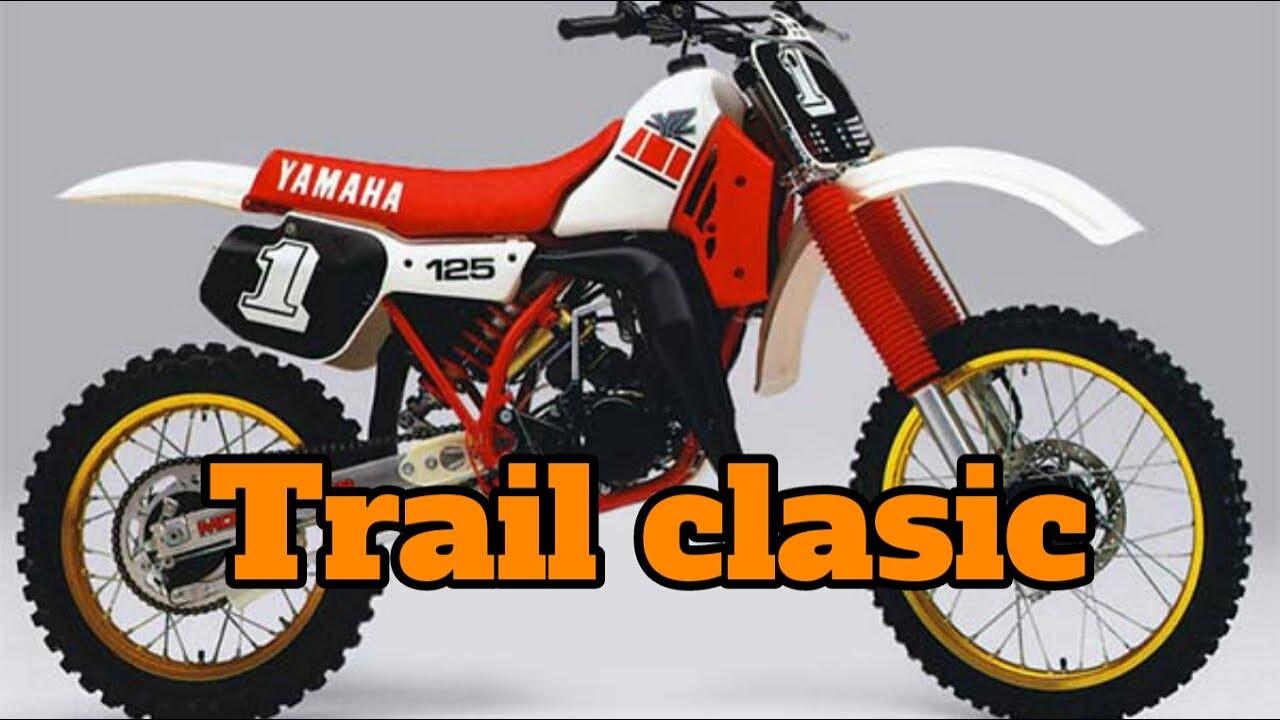 Motor trail jadul - YouTube