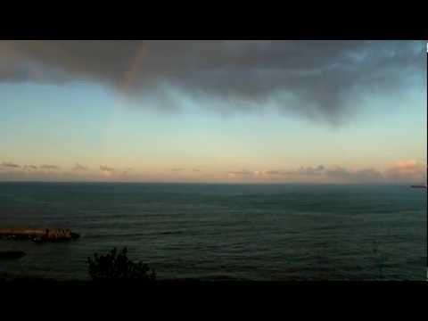 RAINBOW - ARCO IRIS Costa del cantábrico 27 enero 2012
