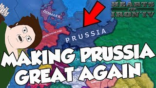 Trying To Make Prussia Great Again Challenge Hearts of Iron 4 HOI 4 In The Name Of The Tsar Mod