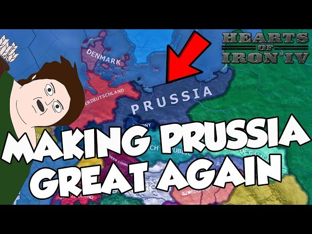 Trying To Make Prussia Great Again Challenge Hearts of Iron