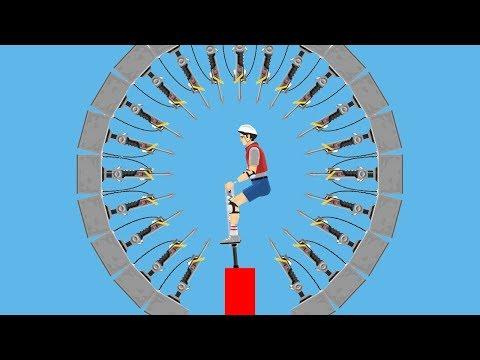 99% НЕПРОХОДИМЫЙ ГАРПУН ЧЕЛЛЕНДЖ! ◄ Happy Wheels #3