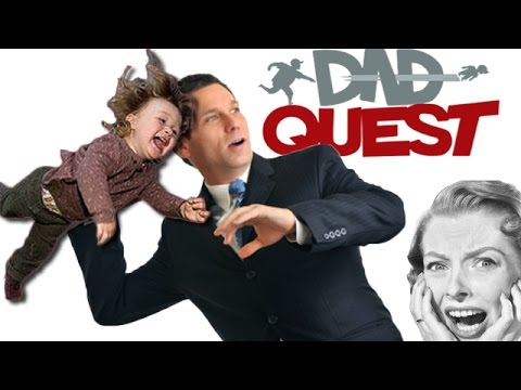 DAD THROWS KID AS WEAPON | Dad Quest Gameplay - Part 1