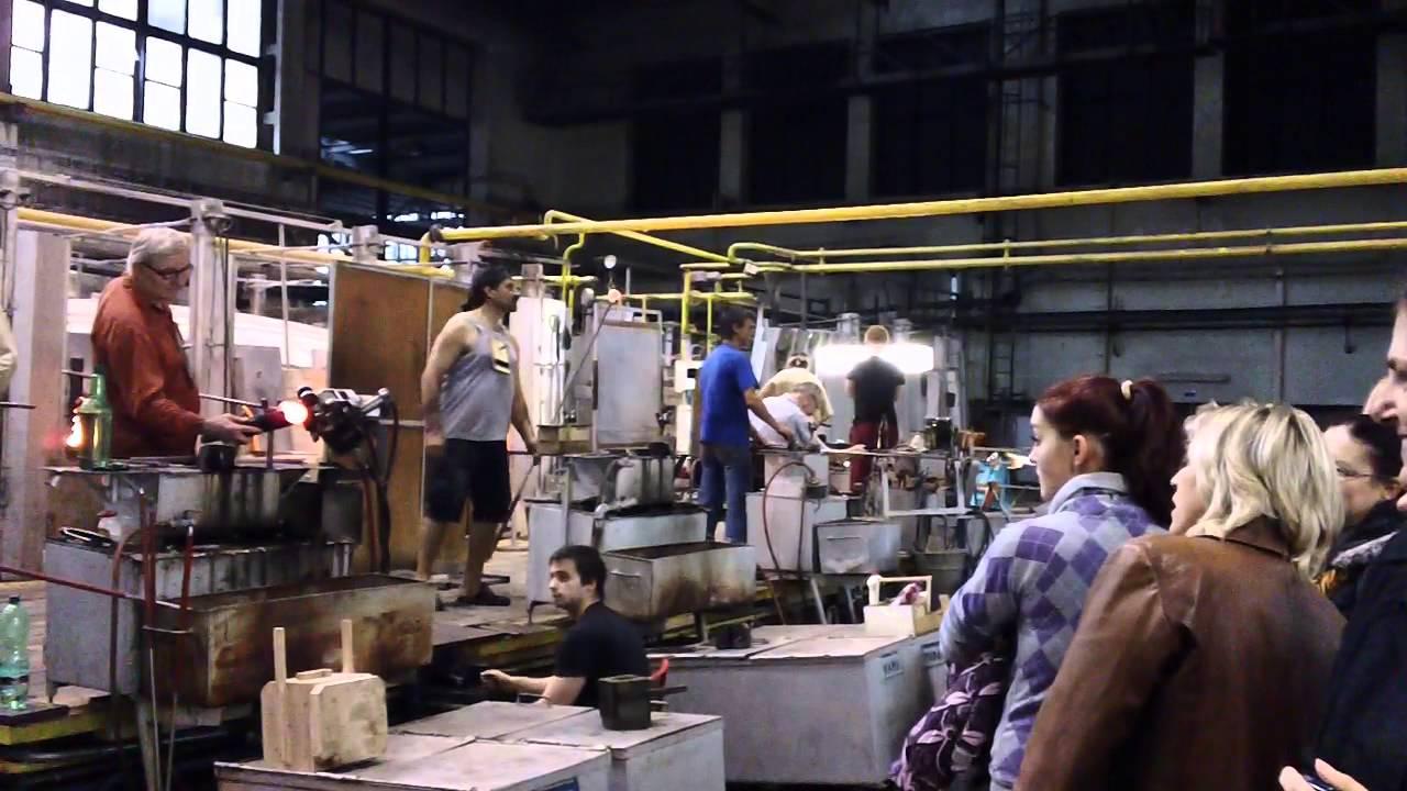 Moser Czech Glass Factory Tour