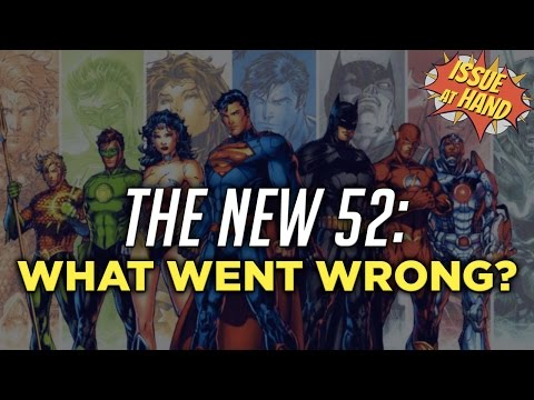 The New 52 & the Rebirth of DC Comics — Issue At Hand, Episode 8