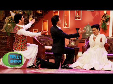 Shahrukh Khan Kajol Celebrate With Kapil Sharma DDLJ In