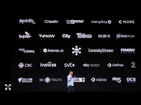 Apple Tv keynote 12th September 2017 Apps Coming Soon Itv Hub Uk Plus Amazon Prime 4k,